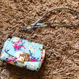 Aldo floral cross body bag
